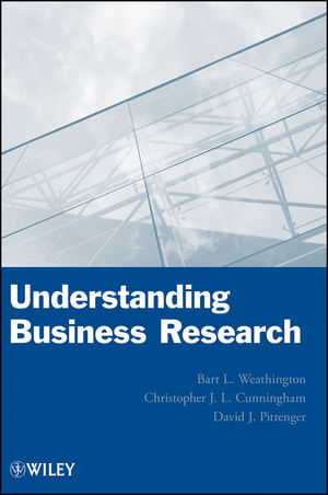 Understanding Business Research (1118342968) cover image