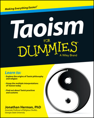 Taoism For Dummies (1118423968) cover image
