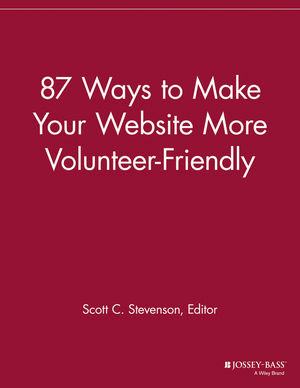 87 Ways to Make Your Website More Volunteer Friendly