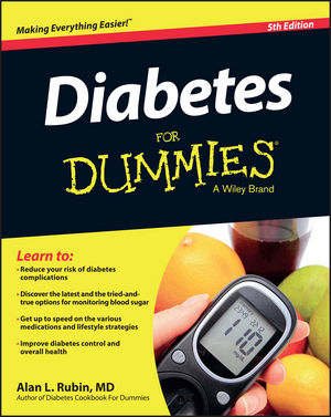Diabetes For Dummies, 5th Edition (1119090768) cover image
