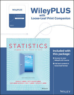 Statistics: Unlocking the Power of Data, 2nd Edition
