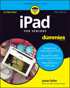 iPad For Seniors For Dummies, 9th Edition (1119280168) cover image