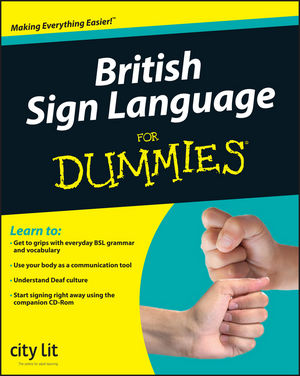 British Sign Language For Dummies (1119992168) cover image