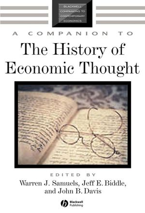 A Companion to the History of Economic Thought (1405128968) cover image