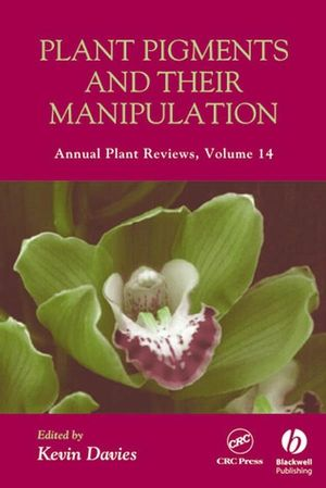 Annual Plant Reviews, Volume 14, Plant Pigments and their Manipulation (1405150068) cover image