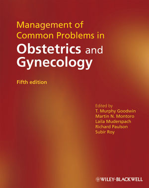 Management of Common Problems in Obstetrics and Gynecology, 5th Edition (1405169168) cover image