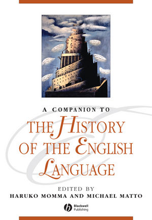 A Companion to the History of the English Language (1444302868) cover image