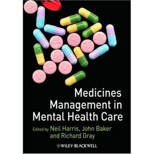 Medicines Management in Mental Health Care (1444316168) cover image