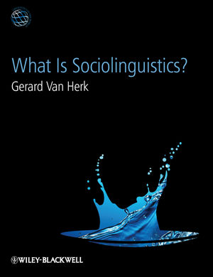 What Is Sociolinguistics? (1444356968) cover image