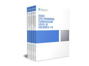 CFA Program Curriculum 2020 Level III, Volumes 1 - 6, Box Set