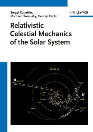 Relativistic Celestial Mechanics of the Solar System (3527408568) cover image