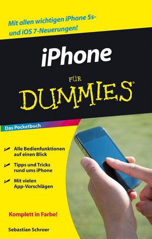 iPhone für Dummies, Das Pocketbuch (3527684468) cover image