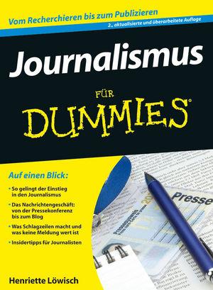 Journalismus für Dummies