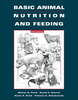 Basic Animal Nutrition and Feeding, 5th Edition (EHEP000368) cover image