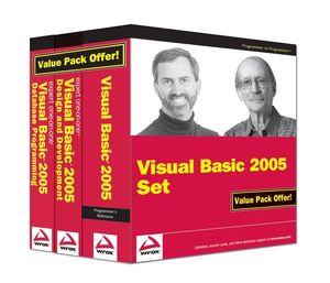 Wrox Visual Basic 2005 Set (0470176369) cover image