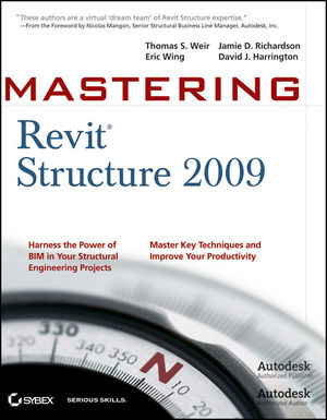 Mastering Revit Structure 2009 (0470451769) cover image