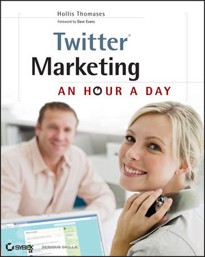 Twitter Marketing: An Hour a Day (0470562269) cover image