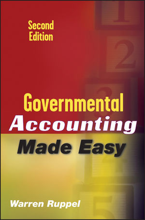 Governmental Accounting Made Easy, 2nd Edition (0470570369) cover image