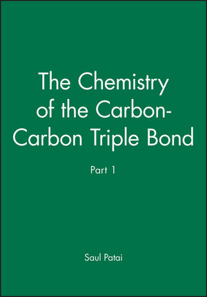 The Chemistry of the Carbon-Carbon Triple Bond, Part 1