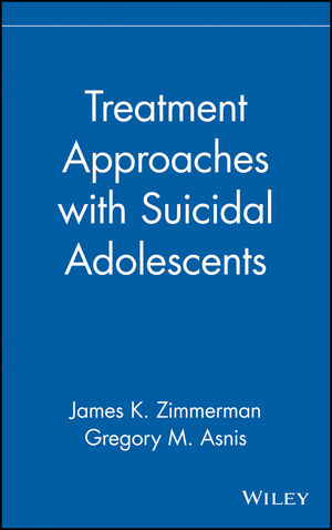 Treatment Approaches with Suicidal Adolescents (0471102369) cover image