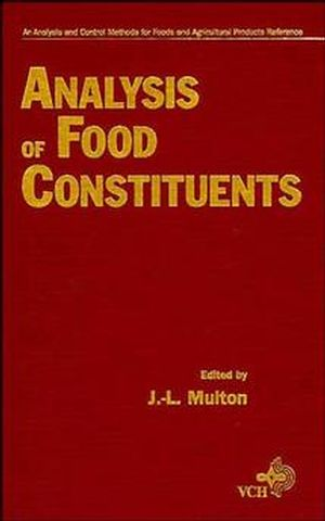 Analysis of Food Constituents