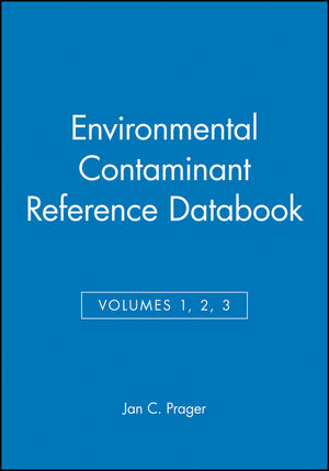 Environmental Contaminant Reference Databook, Volumes 1, 2, 3, Set (0471292869) cover image