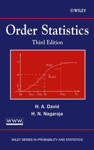 Order Statistics, 3rd Edition