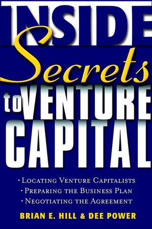 Inside Secrets to Venture Capital (0471414069) cover image