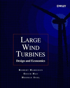 Large Wind Turbines: Design and Economics (0471494569) cover image
