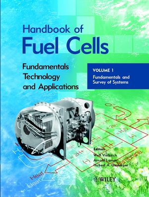 Handbook of Fuel Cells: Fundamentals, Technology, Applications, 4-Volume Set (0471499269) cover image