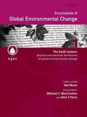 Encyclopedia of Global Environmental Change, Volumes 1 - 5, Set