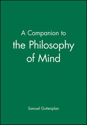 A Companion to the Philosophy of Mind (0631199969) cover image