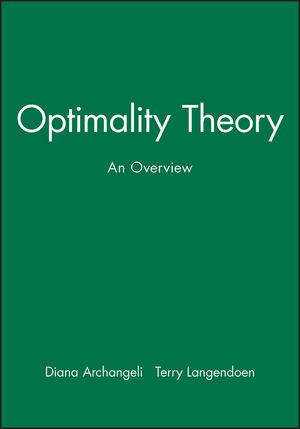 Optimality Theory: An Overview