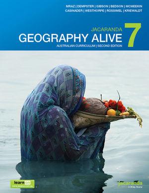 Jacaranda Geography Alive 7 2e Australian curriculum learnON & print