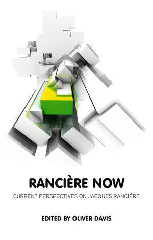 Ranciere Now (0745671969) cover image