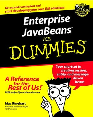 Enterprise JavaBeans For Dummies (0764516469) cover image