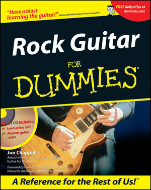 Rock Guitar For Dummies (0764553569) cover image