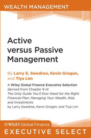 Active versus Passive Management