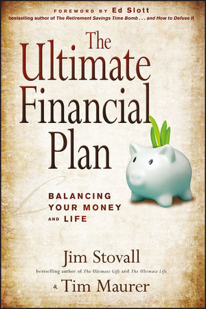 The Ultimate Financial Plan: Balancing Your Money and Life (1118107969) cover image