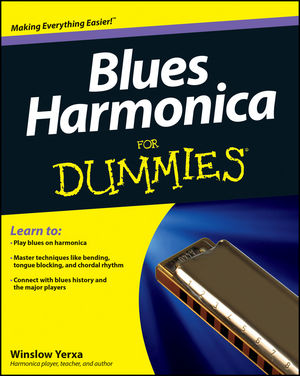 Blues Harmonica For Dummies (1118287169) cover image