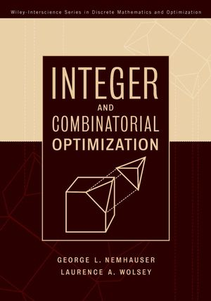 Integer and Combinatorial Optimization (1118626869) cover image