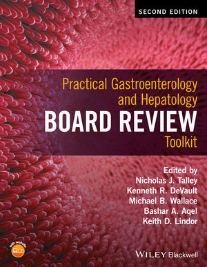 Practical Gastroenterology and Hepatology Board Review Toolkit, 2nd Edition (1118829069) cover image