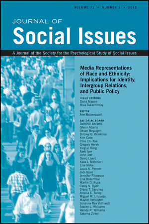 Media Representations of Race and Ethnicity: Implications for Identity, Intergroup Relations, and Public Policy