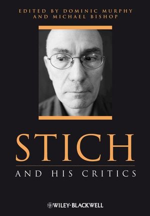 Stich and His Critics (1405112069) cover image