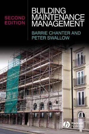 Building Maintenance Management, 2nd Edition