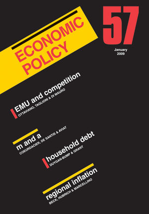 Economic Policy 57 (1405189169) cover image