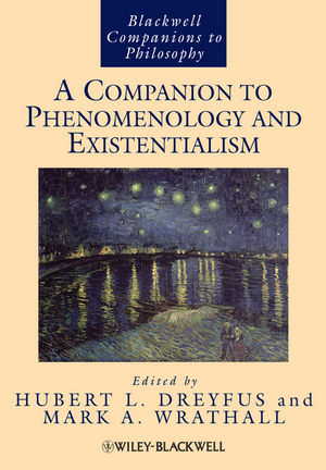 A Companion to Phenomenology and Existentialism (1444356569) cover image