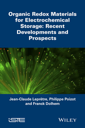 Organic Redox Materials for Electrochemical Storage: Recent Developments and Prospects