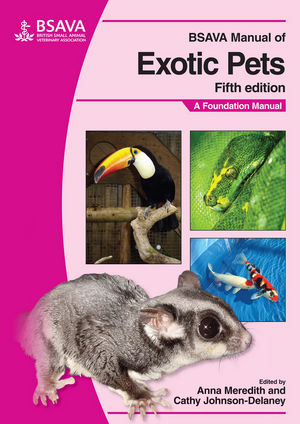 BSAVA Manual of Exotic Pets, 5th Edition (1905319169) cover image