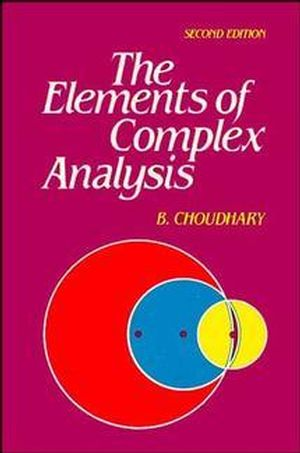 The Elements of Complex Analysis, 2nd Edition (047022116X) cover image